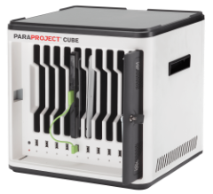 Parat PARAPROJECT Cube i-10, laden en syncen van 10 iOS/Windows/Android apparaten