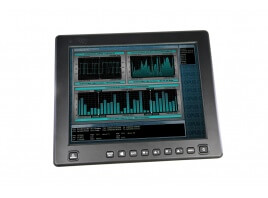 12.1-Inch iKeyVision flat panel touchscreen display