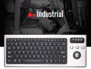 iKey DBL-810-TB Heavy Duty Keyboard