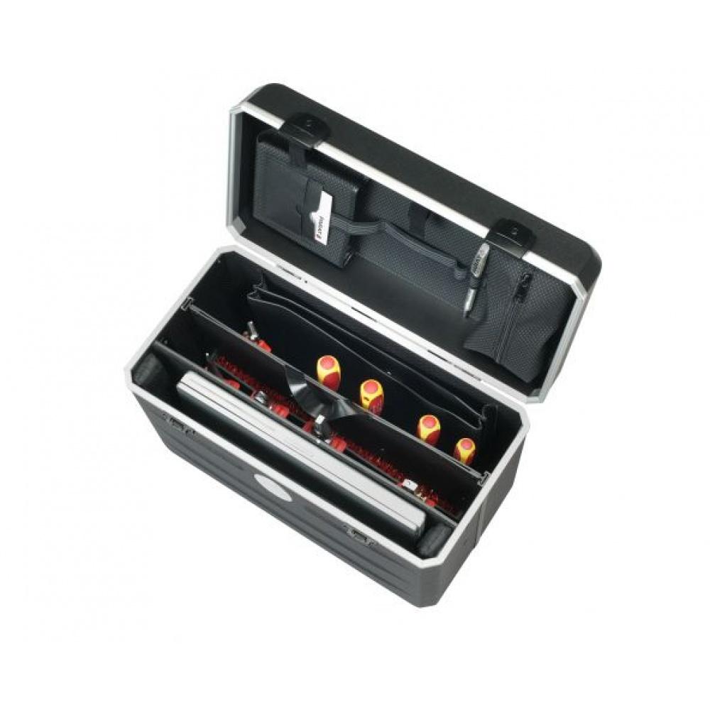 Parat LapTool voor laptops en tools, met trolley, zwart