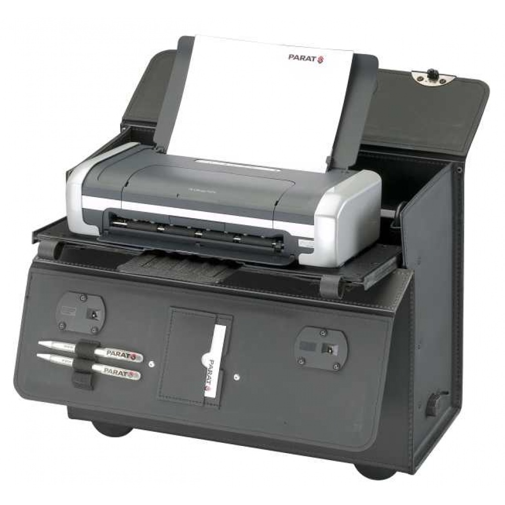 Parat PA-Bold XL voor HP OfficeJet 100, met trolley, zwart