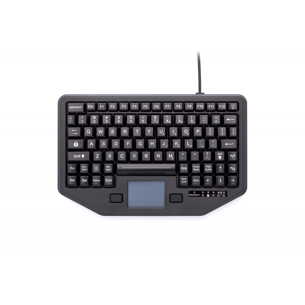 iKey IK-TR-911 Full Travel Keyboard + Attachment Versatility
