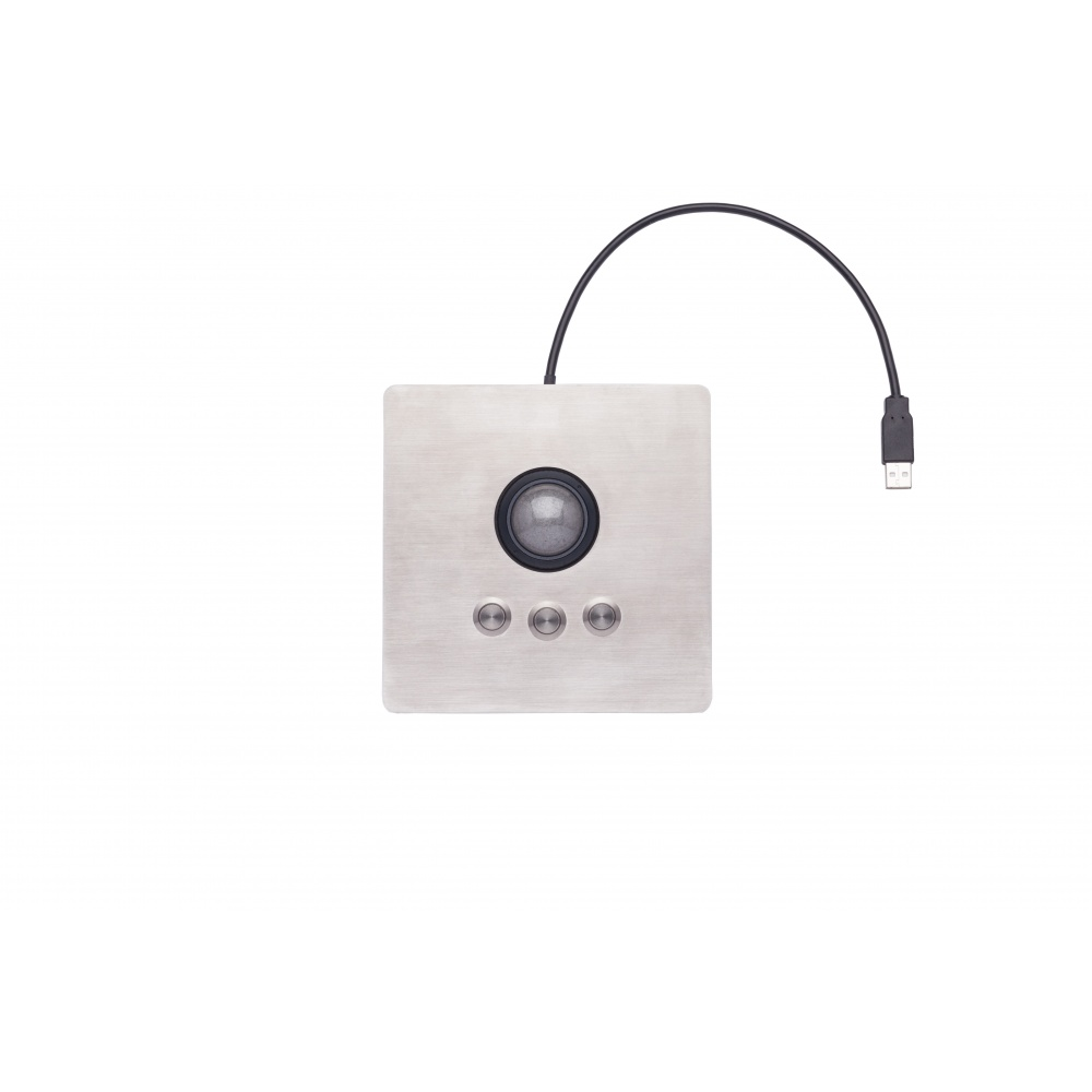 iKey Panel mount Industrial Optical Trackball