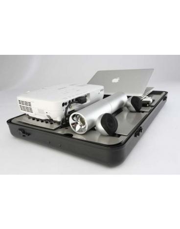 Parat Parago projector case met sound system, zwart