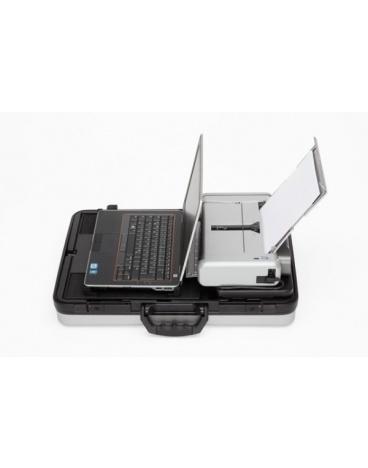 Parat Comlight.Pro koffer, zilver, voor laptop & Canon printer