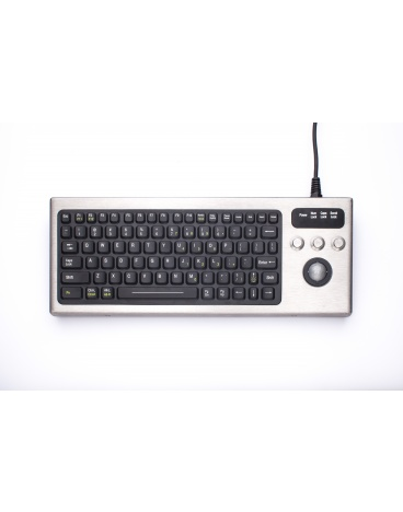 iKey DBL-810-TB, Keyboard with Integrated Trackball