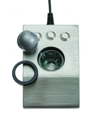 iKey DT-TB Stainless Steel Optical Trackball