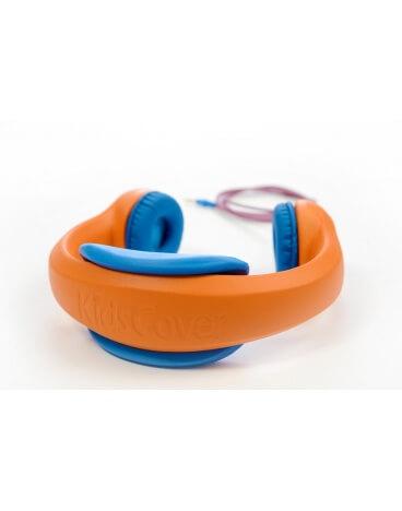 KidsCover_Headset_oranje