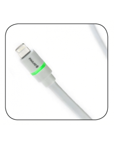 Parat USB-A to Lightning Connector, LED 1.2M, Flat
