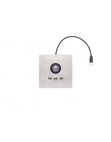 iKey Panel mount Industrial Optical Trackball