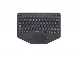 iKey BT-80-TP Bluetooth-Compatible Keyboard with Touchpad