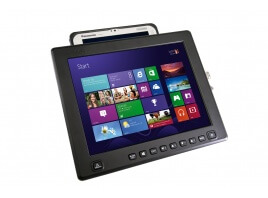 iKey 12.1-Inch iKeyVision Flat Panel Touch Screen Display wi
