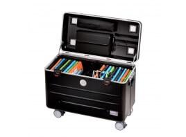 Parat Trolley koffer i20KC, zwart, voor tablets in KidsCover