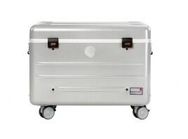 """Parat Trolley koffer N16 voor 16 apparaten tot 10"""", zilver"""