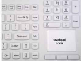 Touch Cover voor Man & Machine toetsenbord met geïntegreerd touchpad